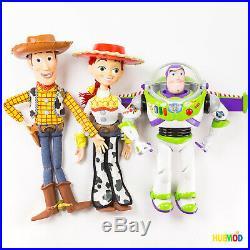 Disney Store Toy Story Buzz Lightyear Woody Jessie Talking Action Figure Dolls