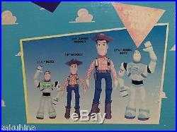 Disney TOY STORY ADVENTURE BUDDY WOODY WITH FLOPPY LEGS THINKWAY RARE 1995