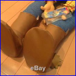 Disney TOY STORY Woody Big Size Doll Height 120cm(3.94ft) Rare Used