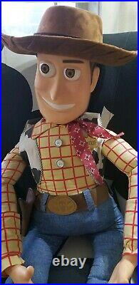 Disney TOY STORY Woody doll 1995 RARE Promotional Only Frito Lay 4' Life Size