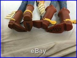 Disney Talking Toy Story Woody & Jessie Pull String Doll 15 & Buzz (Thinkway)