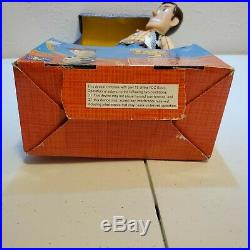Disney Toy Story 2 Sheriff Woody Pull String Talking Action Figure Doll 16'