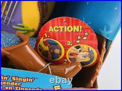 Disney Toy Story 2 Strummin Singing Sheriff Woody 17 Guitar 1999 Mattel VGC