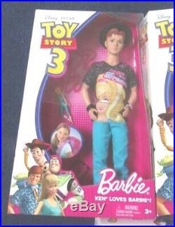 Disney Toy Story 3 Barbie Ken Puppe 2009 Woody Buzz Pixar