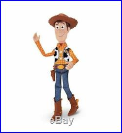 Disney Toy Story 4 Sheriff Cowboy Woody Doll Pull String Talking Action Figure