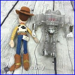 Disney Toy Story Buzz Lightyear Interstellar Clear Talking Toy Woody Plush Doll