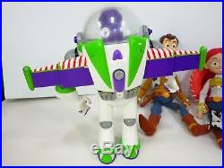Disney Toy Story Buzz Woody Pull String Jessie 16 Bullseye Slinky Large Dolls