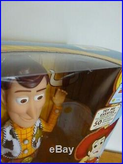 Disney Toy Story Exclusive Signature Collection Talking Woody The Sheriff Doll