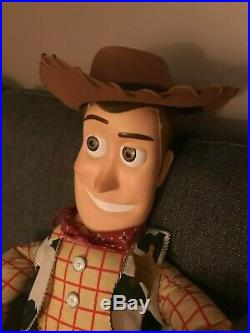 Disney Toy Story Giant 4 Foot Tall 48 Woody Doll RARE