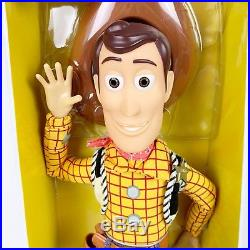 Disney Toy Story Talking Woody Buzz Lightyear Action Figures Dolls Set