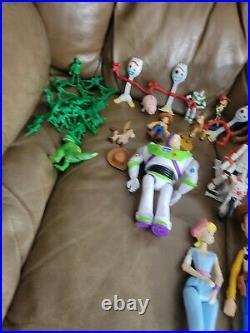 Disney Toy Story Woody, Jessie, Bullseye, Boo Peep, Figures LOT