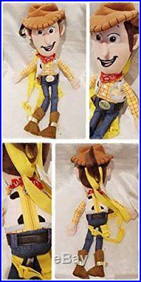 Disney Toy Story Woody doll backpack stuffed bag plush anime present hobby gift