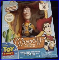 Disney Toy Story Woody's Roundup Sheriff Woody Signature Collection New! NIB