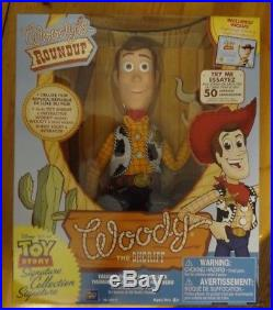 Disney Toy Story Woody's Roundup Talking Sheriff Woody Doll Collection Figure