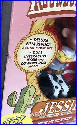 Disney Toy Story Woody's Roundup Yodeling Talking Jessie Doll Signature
