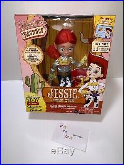 Disney Toy Story Woody's Roundup Yodeling Talking Jessie Doll Signature NEW