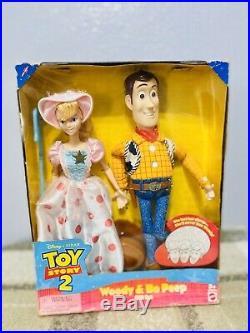 Disney Toy story 2 woody & bo peep Gift Set Dolls
