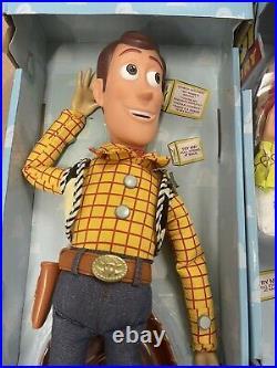 Disney Vintage TOY STORY Woody & Jessie Talking Pull-String Doll Toys 15 Works