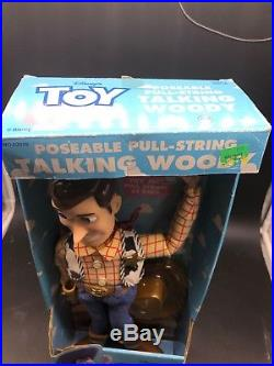 Disney's Toy Story Poseable Pull-String Talking Woody Doll