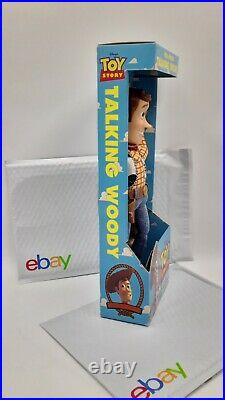 Disney's Toy Story Think Way Toys Pull-String Talking Woody New In Box