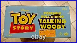Disneys Toy Story Poseable Pull-String Talking Woody