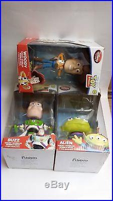 Funko Toy Story Wacky Wobbler Bobble Head Jessie and Woody Lot of 2
