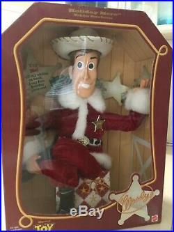 Holiday Hero Woody doll as Santa Holiday Hero Series by Mattel