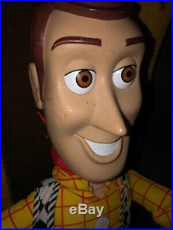 Huge Vintage Toy Story Sheriff Woody 32 RARE Doll Disney Pixar Mattel
