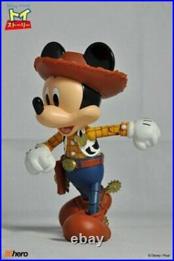 Hybrid Metal Figuration # 003 Toy Story Woody Mickey Mouse Figure