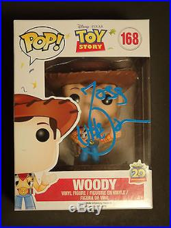 Joss Whedon Signed Autographed Pop Funko Woody Toy Story Action Figure Doll Rare