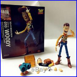 Kaiyodo Revoltech 010 Toy Story Woody Action Figure Toy Doll Model Collectible