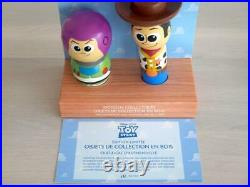 Kokeshi Doll Japanese Vintage Antique TOY STORY Buzz & Woody Limited 300