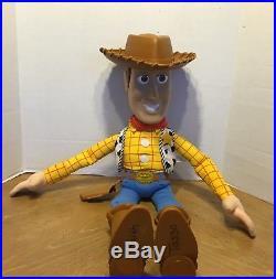 LARGE JUMBO Toy Story WOODY 32 Plush Toy Doll Cowboy Sheriff Disney Mattel