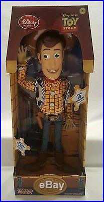LOT Disney Store Toy Story Woody Jessie Buzz Zurg Talking SET Figures NEW