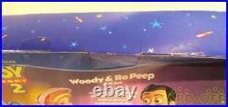 MATTEL Disney Toy Story 2 WOODY & BO Doll Figure From Japan