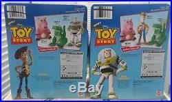 Mattel Disney Pixar Toy Story BUZZ LIGHTYEAR & WOODY Cuddle Plush Dolls