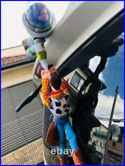 Maturity Toy Story Woody Buzz Car Hanging Doll With Helmet