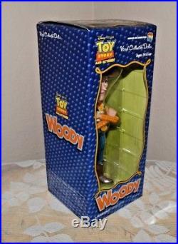 Medicom Pixar Toy Story WOODY Vinyl Collectible Doll CVD Cowboy Sheriff Disney