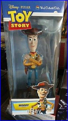 Medicom TOY STORY Woody Vinyl Collectible Doll VCD Disney PIXAR 2 3