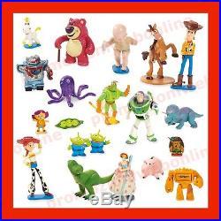 Mega set da gioco 20 personaggi Toy Story Disney, Buzz, Woody, Jessie, Rex ecc