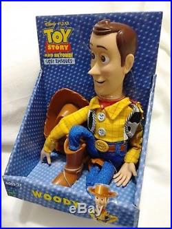 NEW DISNEY PIXAR TOY STORY BEYOND LOST EPISODES SHERIFF WOODY HASBRO Plush Doll