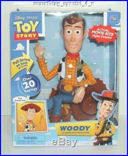 NEW Disney Toy Story Woody Talking Action Pullstring Doll Figure