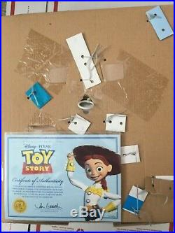NEW Toy Story JESSIE YODELING COWGIRL Woodys Roundup Talking Doll 33 phrases