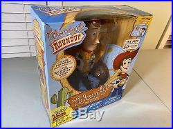 NEW Toy Story Woody's Roundup Sheriff Signature Collection talking Woody doll