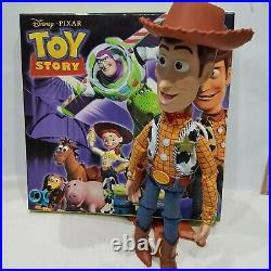 NEW Woody TOY STORY talking figure doll signature collection
