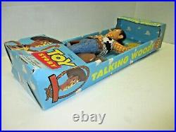 NEW original 15 Pull String Talking Woody (MISB) Disney Toy Story Think Way Toy