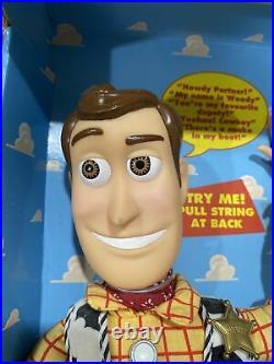 NIB Original Toy Story Sheriff Woody Thinkway Toys 62810 REcalled