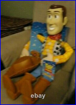 NWT Large 32 Inch TOY STORY Woody Doll (Disney, Toy Story)