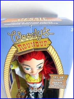 New Disney Pixar Toy Story Jessie The Yodeling Cowgirl Woody's Roundup