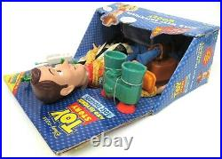 New Sealed Hasbro Toy Story And Beyond Wild West Adventurer Woody 2003 Very Rare